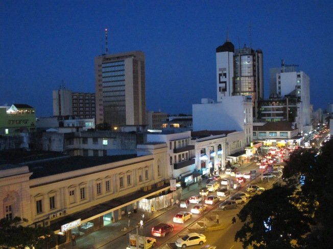 Mombasa night scape