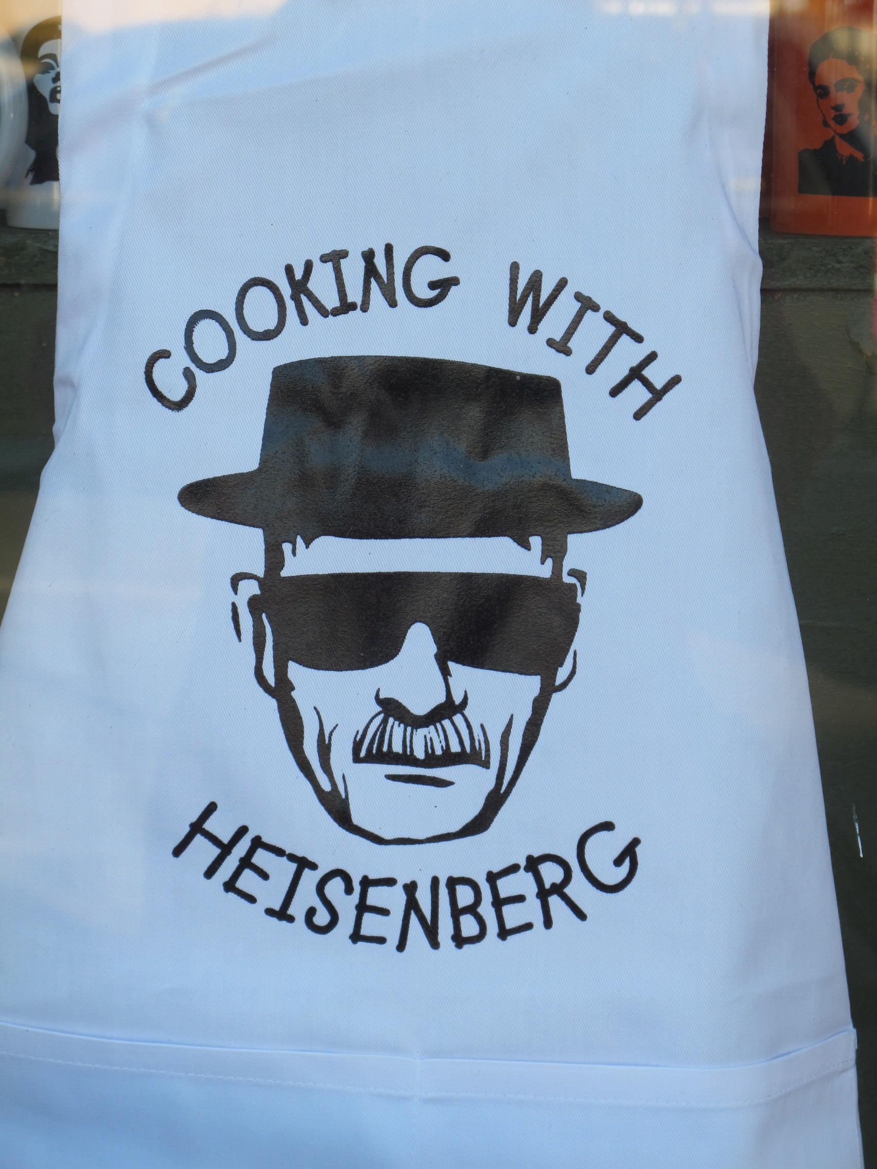 Walter white green apron - Heisenberg Apron