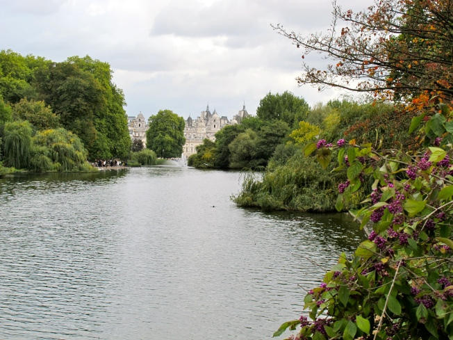 Verdant St. James's Park - London's green lung