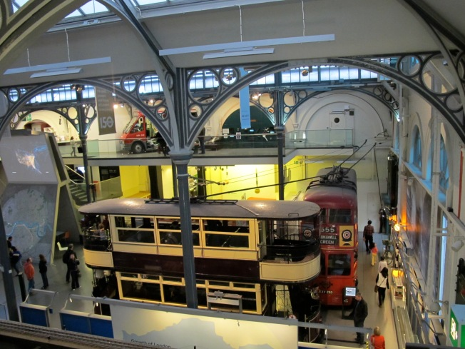 Great exhibits show the past and contemporary face of London's transport systems