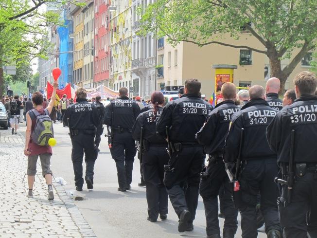 Blockupy Frankfurt