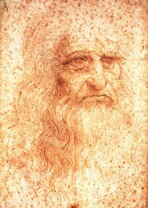 Leonardo self-portrait